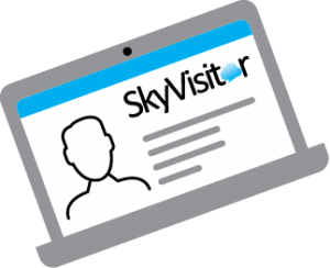SkyVisitor Screen